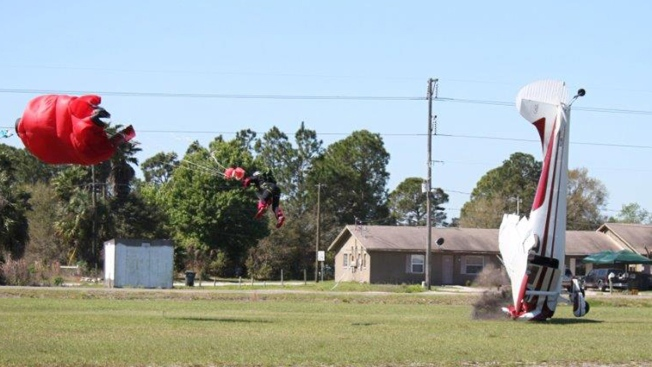 Injured Florida Skydiver Says He'll Jump Again