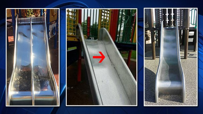 Stainless Steel Playground Slides Recalled Over Amputation Risk