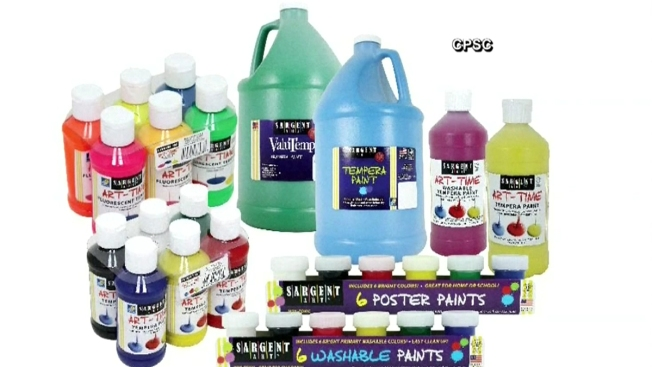 Millions of Craft Paints Recalled Over Harmful Bacteria