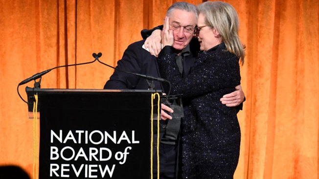 De Niro Slams Trump in Profanity Laced Tirade While Presenting Award to Streep