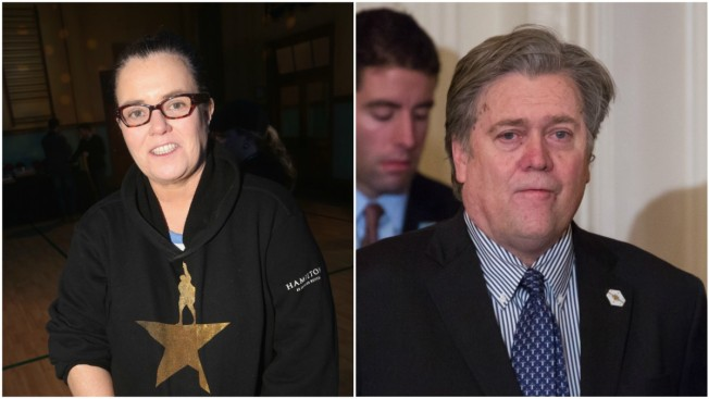 Rosie O'Donnell 'Available' to Play Steve Bannon on 'SNL'