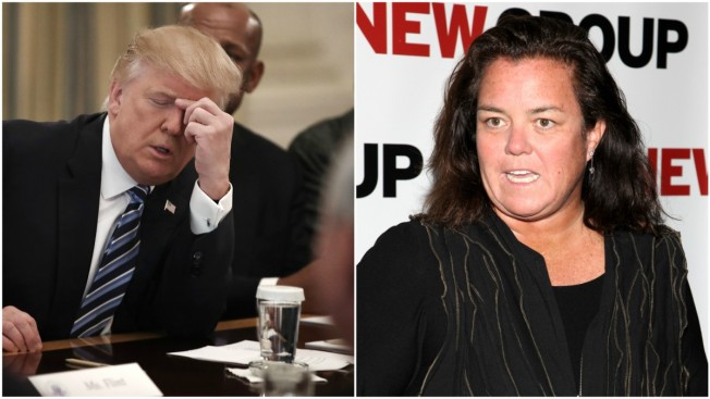 Rosie O'Donnell Draws Criticism Over Online Anti-Trump Game