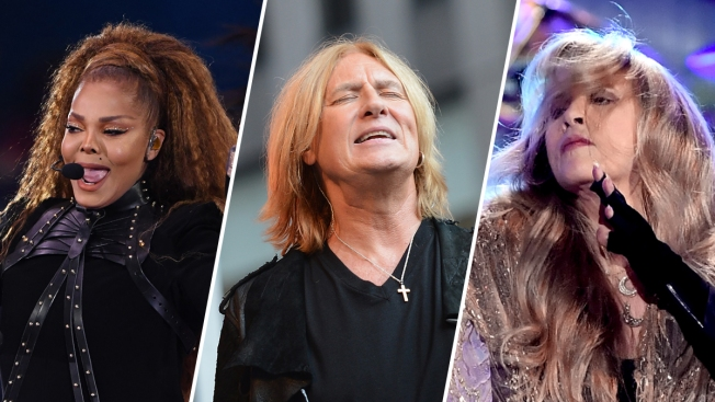 Janet Jackson, Def Leppard, Stevie Nicks Join Rock and Roll Hall of Fame