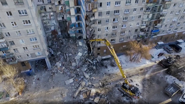 Russian Apartment Collapse Death Toll Rises to 37