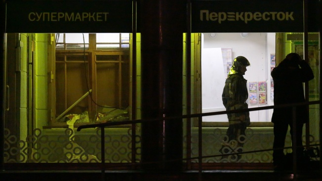 Putin: St. Petersburg Supermarket Explosion That Hurt 13 Was Terror Attack
