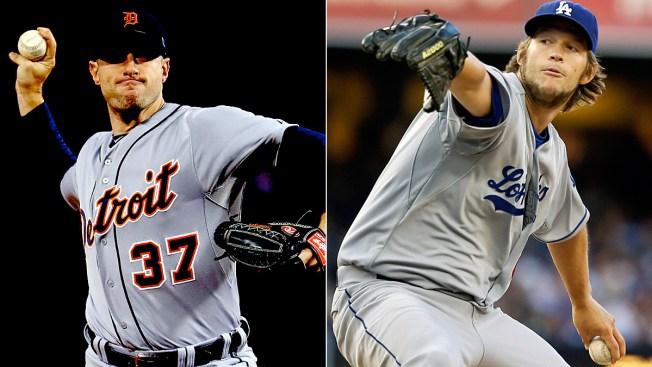 Dodgers' Kershaw, Tigers' Scherzer Win Cy Young Awards