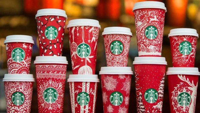 Starbucks Unveils 13 New Holiday Red Cups