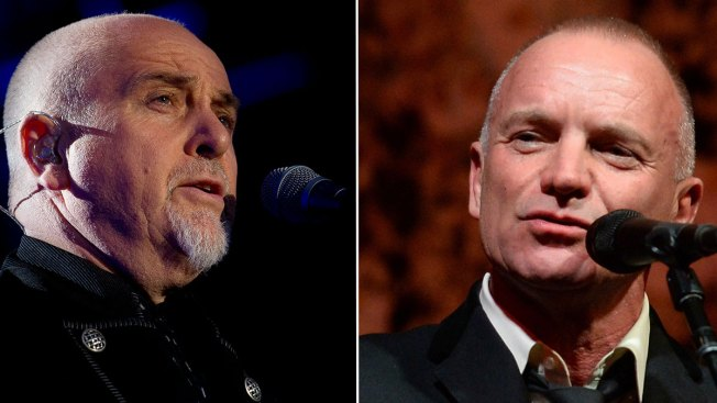 Peter Gabriel, Sting Announce 'Rock Paper Scissors' Tour