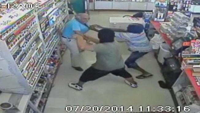 Surveillance Video Captures Stop 'N Go Robbery