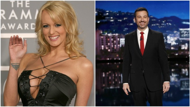 Stormy Forecast: Kimmel Books Daniels on Night of Trump Speech