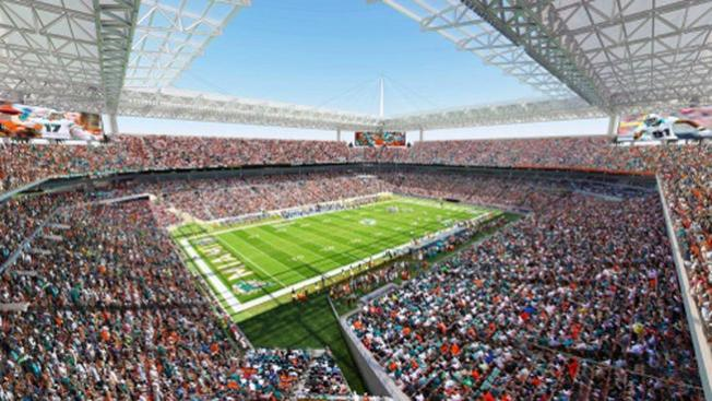 Miami Dolphins Nearing Deal with County for Sun Life Stadium Renovation