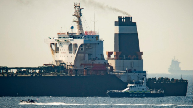 Gibraltar Detains Syria-Bound Super Tanker With Iranian Oil