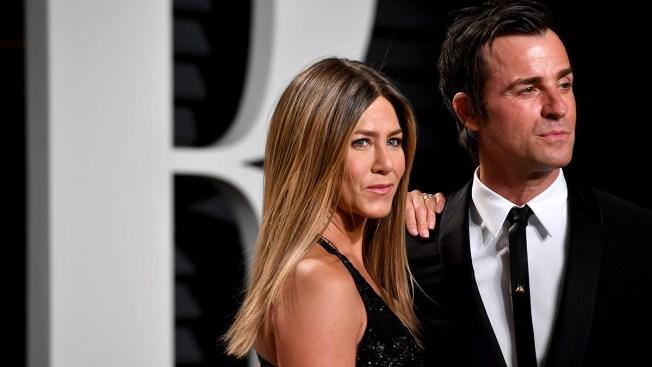 Jennifer Aniston, Justin Theroux Reunite to Say Goodbye to Rescue Dog Dolly