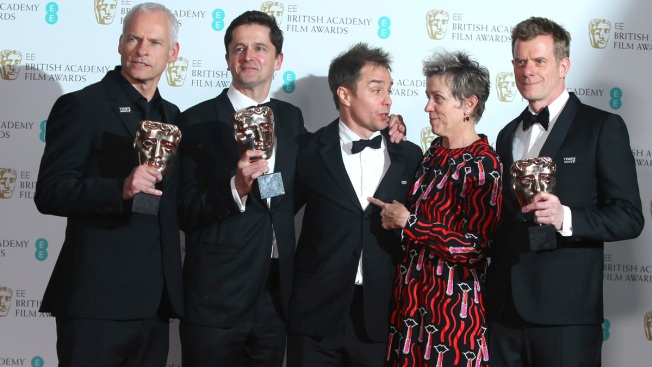 'Three Billboards' Wins, Women Make Waves at UK Film Awards