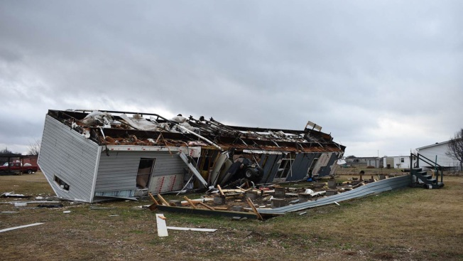 5 Dead After Tornado, Flooding From Central US Storms