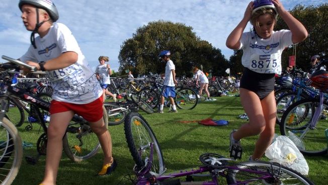 Triathlon Program by Sandy Hook Family Gets Help to Expand