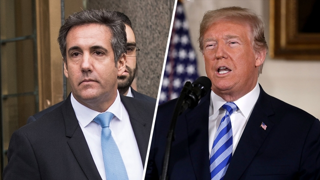 Trump Discloses Cohen Payment, Raising New Legal Questions