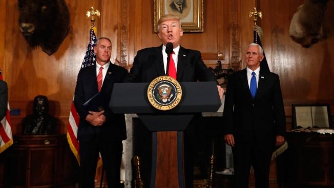 Trump: National Monuments a 'Massive Federal Land Grab'