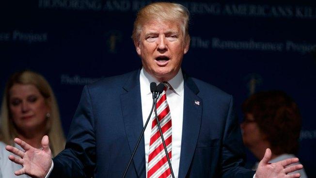 Trump Campaigns in Texas, Colorado