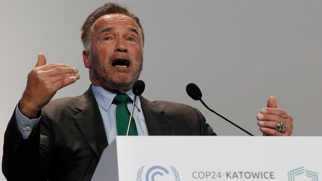Schwarzenegger Would Time Travel to Terminate Fossil Fuels