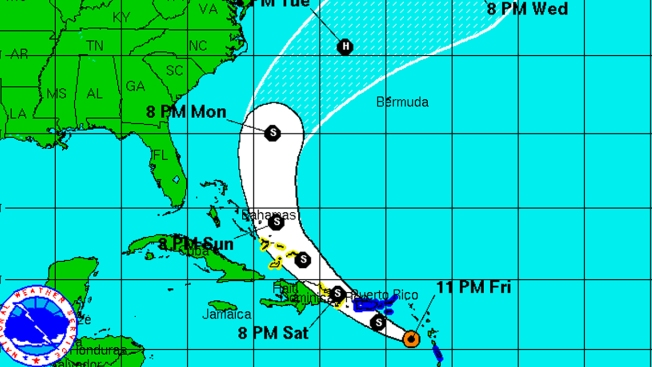 Tropical Storm Bertha Forms in Atlantic