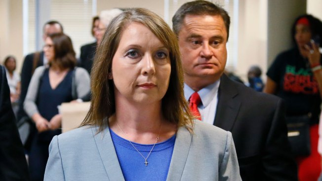 Betty Shelby sworn in at Rogers County Sheriff's Office as reserve deputy