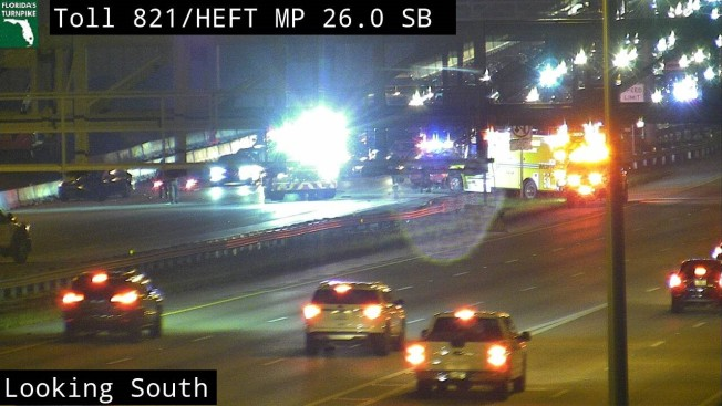 Crash Shuts Down Lanes of Turnpike in SW Miami-Dade - NBC 6