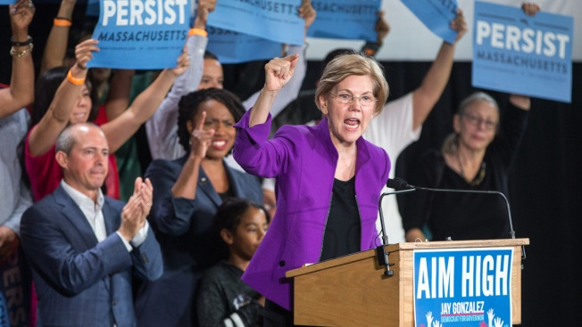 """Warren Plans to Take a """"Hard Look"""" at Running for President"""