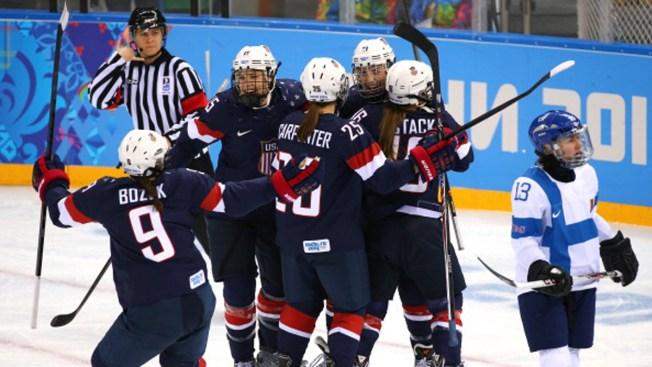 U.S. Beats Finland in Women's Hockey at Sochi Olympics