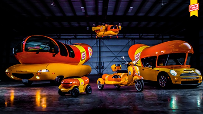 Drone and moped being added to Oscar Mayer WienerFleet