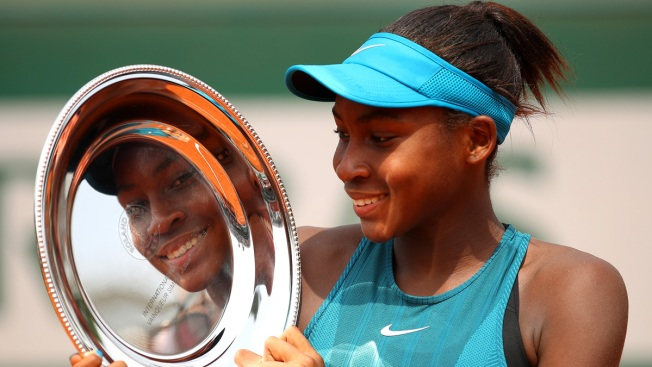 Cori 'Coco' Gauff Is Youngest Player to Qualify for Wimbledon at Age 15