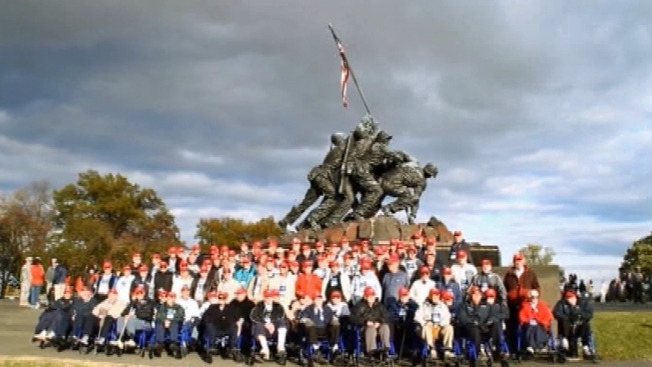 Honor Flights Take World War II Veterans to DC Memorial