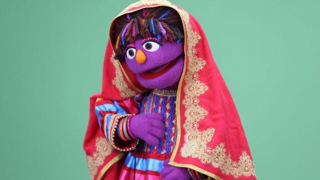Zari, New Female Puppet, Joins Afghan Sesame Street
