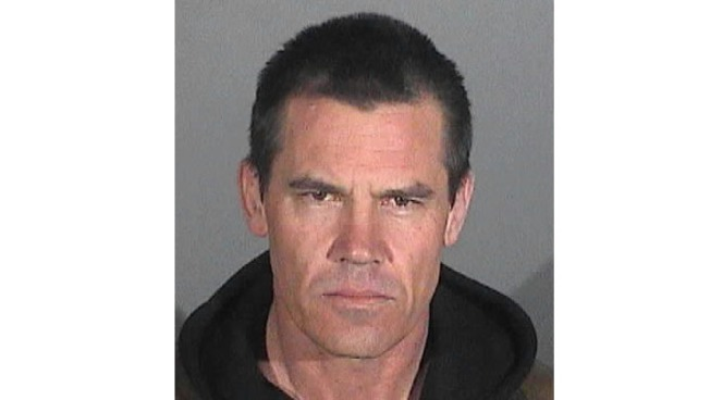 Josh Brolin Held on Public Intoxication Charge