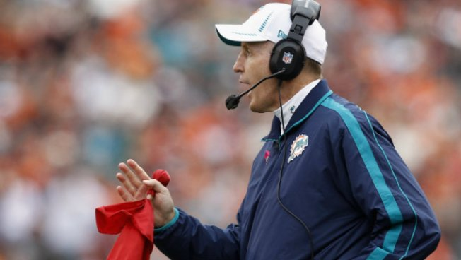 Dolphins' Philbin: Bush Out of the Doghouse