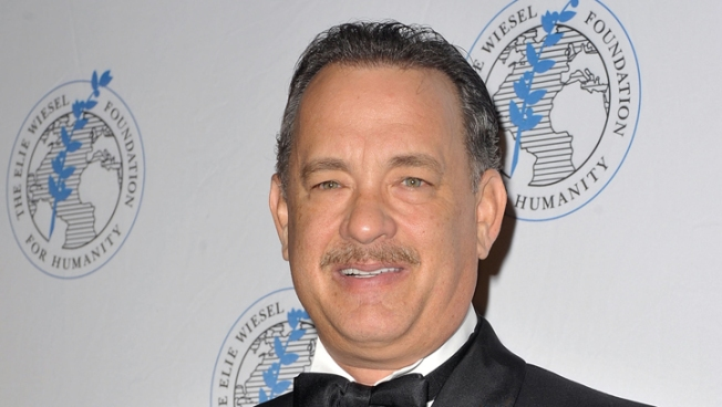 "Tom Hanks Drops F-Bomb on ""Good Morning America"""