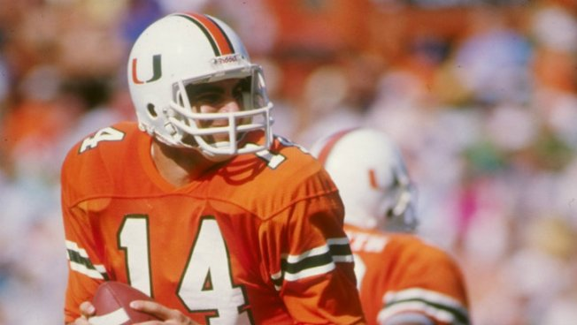 University of Miami's Vinny Testaverde To Join College Football Hall of Fame