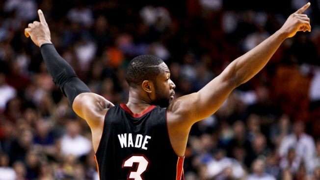 Wade Scores 41 As Heat Close Out Pacers