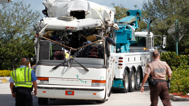 Third Victim Dies After Miami International Airport Bus Crash: Officials