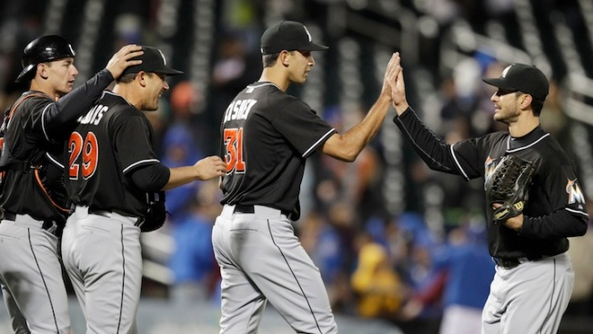 Miami Marlins Score a Win Over the Mets 7-5