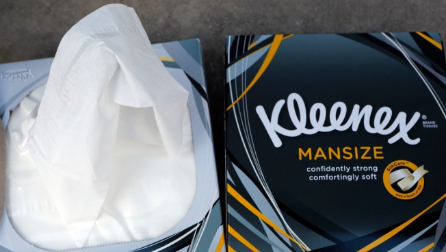Kleenex to Rebrand 'Mansize' Tissues After Gender Complaints