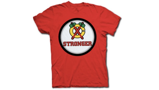 "Company Pulls ""Chicago Stronger"" Hawks T-Shirts After Boston Backlash"