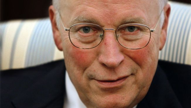 Cheney Pulled Back Muscle Moving into New Home