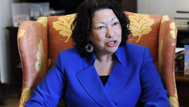 """""""Wise Latina"""" Sotomayor Enters the Lion's Den"""