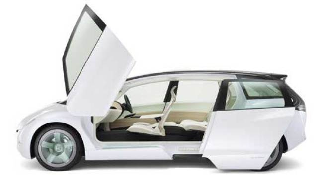 Honda Skydeck, the DeLorean for Soccer Moms