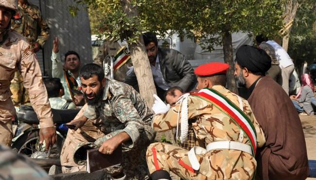 Gunmen Attack Iran Military Parade, Killing Dozens