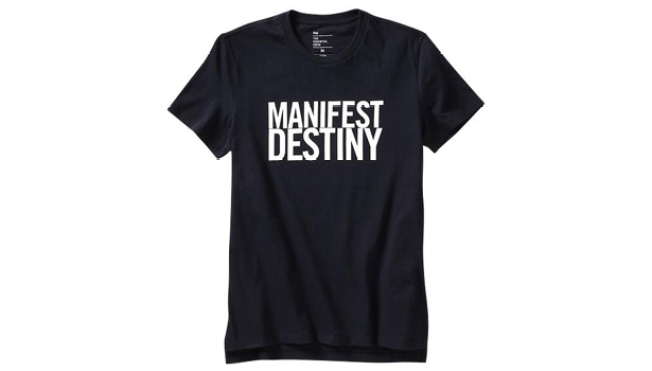 "Gap Pulls ""Manifest Destiny"" T-Shirt Following Outcry"