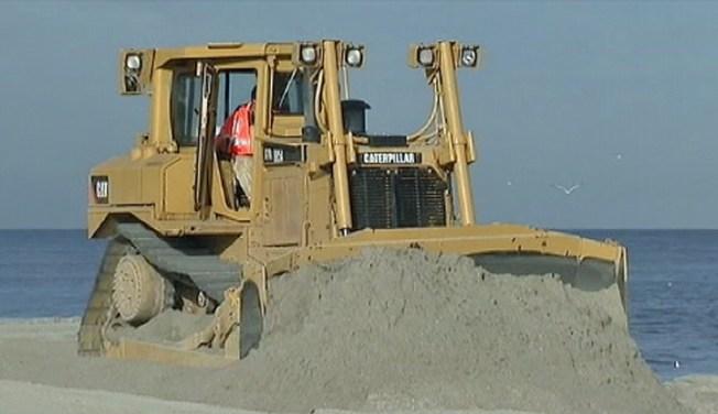 Miami Beach Renourishment Project Begins
