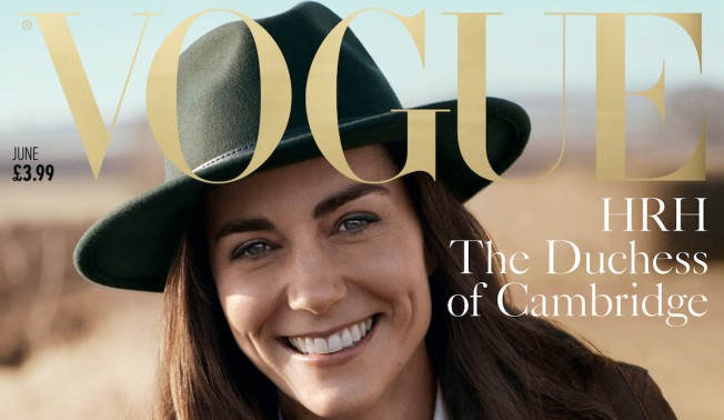 Duchess Kate Stuns on Cover of British Vogue's 100th Anniversary Issue