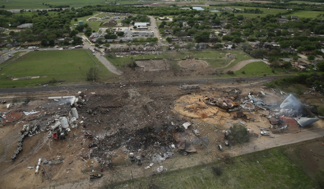Cause of Texas Plant Blast Remains Unknown